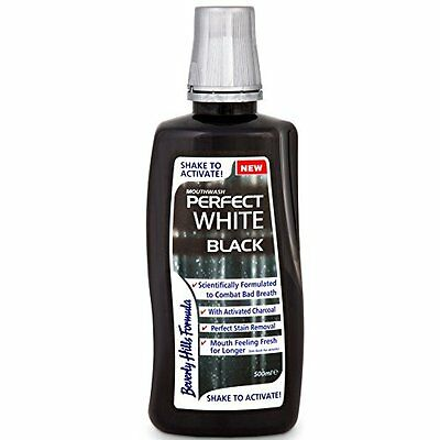 1x Beverly Hills Zahnpasta White Black Aktivkohle 100ml -Zahncreme Text deutsch