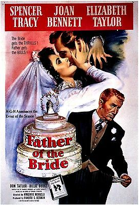 NEW DVD //  Father of the Bride // Spencer Tracy, Elizabeth Taylor, Joan Bennett