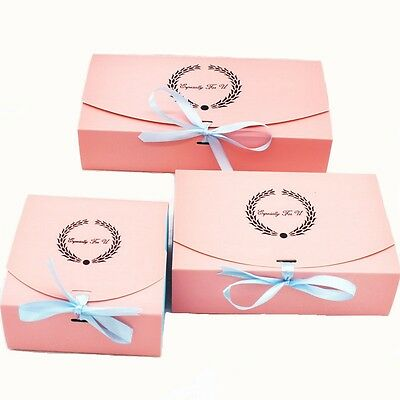 10pcs Colorful Box Wedding Party Candy Cake Gift Boxes Ear Of Rice
