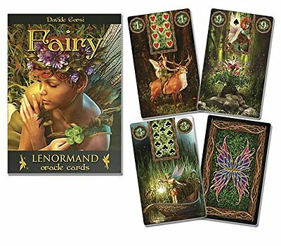 Fairy Lenormand Oracle Set Deck Cards Wiccan Pagan Metaphysical