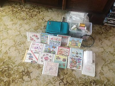 Box 14 - Cams for JanomE 2000 embroidery sewing machine