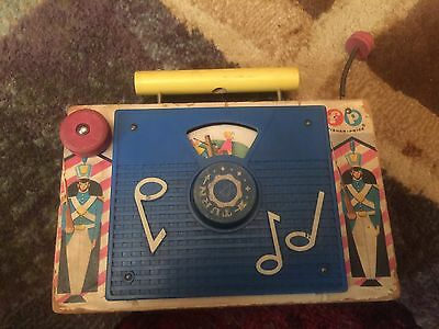 Vintage Fisher Price Tv Radio Jack And Jill
