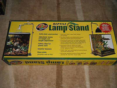 Zoo Med Reptile Lamp Stand Full Size  NEW Tax inc