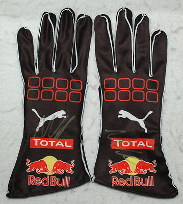 Max Verstappen Signed - Autographed - Replica 2016 Racing F1 Gloves Pair Proof