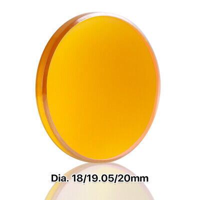 "20mm CO2 Laser Lens FL: 2""/50.8mm ZnSe Focal Lens for Cutting Engraving 10.6um"