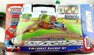 Thomas & Friends Trackmaster Great Railway Set & Extras ( Whispering Woods Pack)
