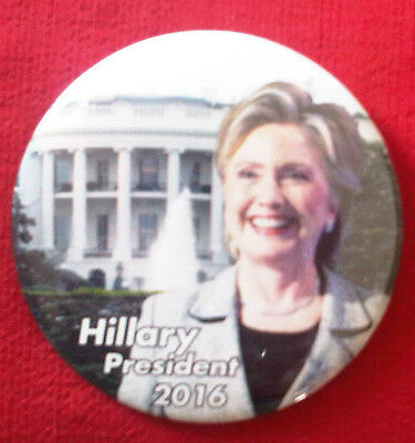 Campaign Button Hillary Clinton for President 2016 (# 856)