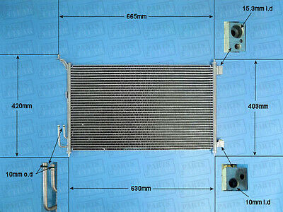 Brand New Air Con Condenser With O Ring Kit A/C Air Conditioning 16-1416