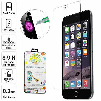 Clear Tempered Glass Screen Protector Film For Apple iPhone X 8 7 plus 6 6S