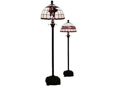 Texas Tech Red Raiders Stained Glass Tiffany Style Floor Lamp