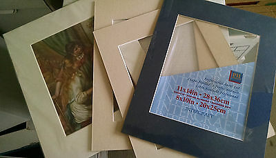 "Lot of 6 Designer Mat Frames 11""x14"""