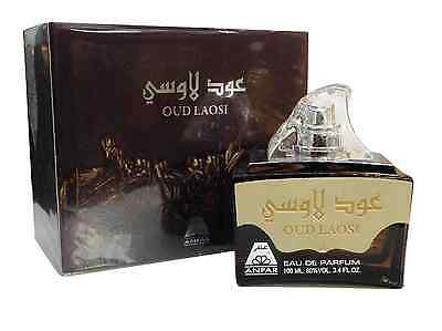 Oud Laosi Perfume Spray Attar Quality by Anfar 100ml Arabian Oriental Fragrance