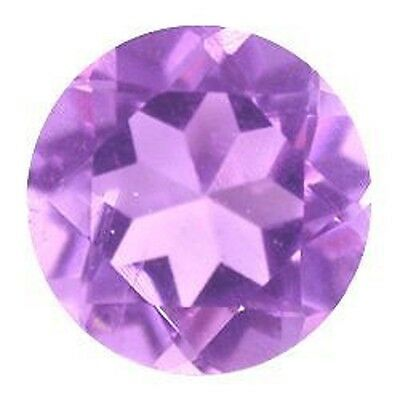 Astonishing Fine Purple AMETHYST Round Cut 7 MM