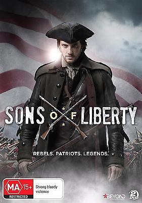 SONS OF LIBERTY The Complete Series (Region 2) DVD Miniseries Season