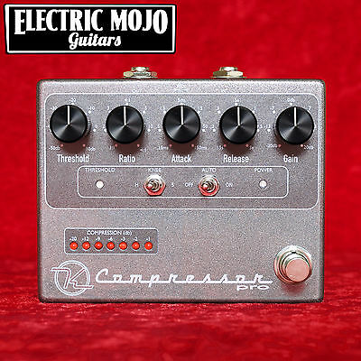 Keeley Electronics Compressor Pro Guitar Bass Effect Pedal