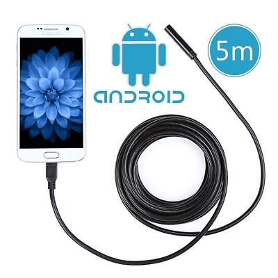 5.5mm 7MM LED Android PC Endoscope Waterproof Inspection Tube Borescope Camera