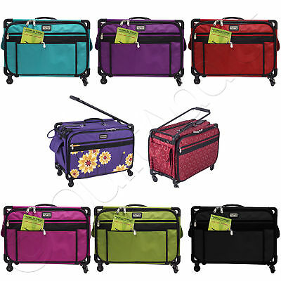 """Tutto Tote on Wheels Large, 22"""" - Choose from 8 Colors - Rolling Sewing Machine"""