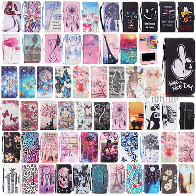 Various Pattern Wallet Folio Leather Stand Case Cover For Samsung Galaxy S5 Neo