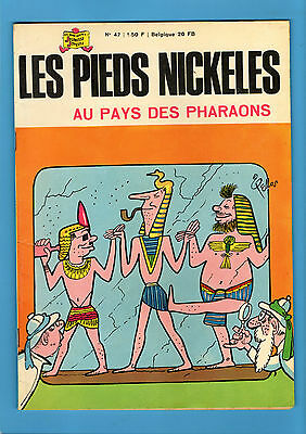 ► Les Pieds Nickeles - N°47 - Les Pieds Nickeles Pays Des Pharaons - 1967 - Tbe