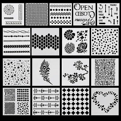 Hot Layering Stencil Template for DIY Scrapbooking Photo Album Paper Cards Craft