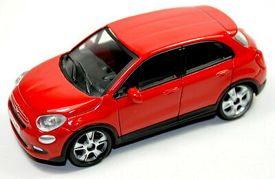 Fiat 500X Model Car 1/43 New and Genuine - Red  50907714