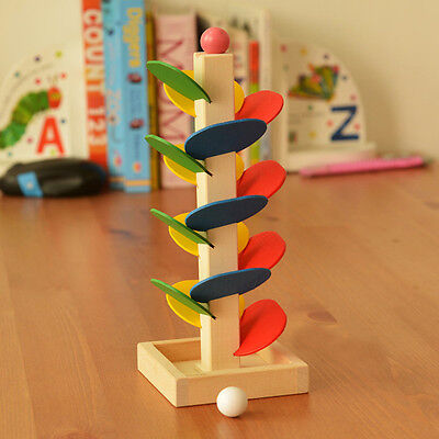 Hot Sell Wooden Marble Tree Run Track Game Kids Intelligence Educational Toys