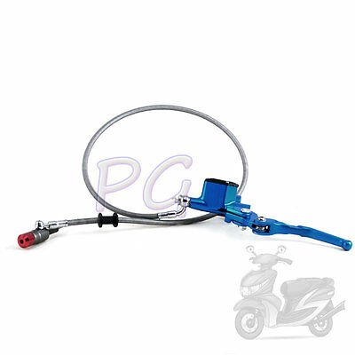 Blue Hydraulic Clutch Lever Master Cylinder Dirt Bike Sdg Ssr 107 110 125