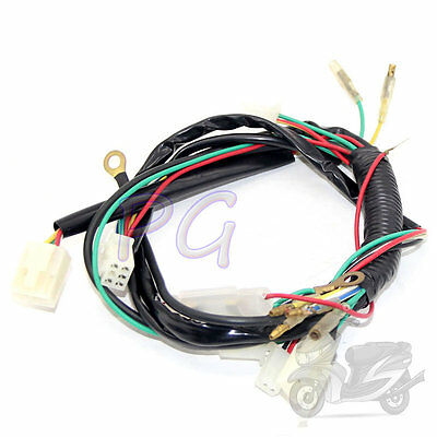 Motorcycle  Accessories PIT BIKE COOLSTER WIRE HARNESS ELECTRIC START DIRT ATV