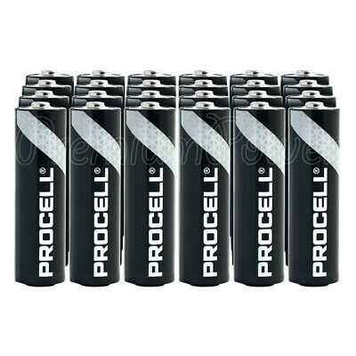 30 x Duracell AA batteries Alkaline Industrial Procell LR6 MN1500 MIGNON