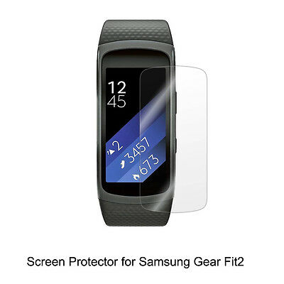 3* Clear LCD Screen Protector Guard Cover Shield Film for Samsung Gear Fit2