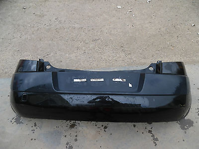 Renault Megane Mk2 2005 Rear Bumper In Black Colour Code - Nv676