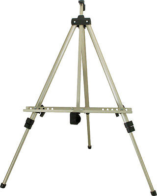 Top Notch Lightweight Adjustable Aluminum Display Field Easel with Nylon Bag