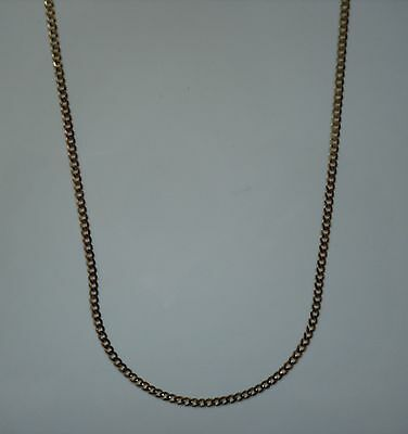 """10k Yellow Gold 20"""" Open Link Chain 5 grams 3 mm - NEW"""