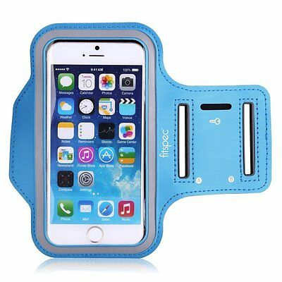 Fitspec iPhone 5 SE 5s 5c Armband For Running Sport Fitness Gym Jogging Case