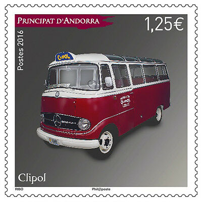 andorra 2016 andorre Mercedes 319 Clipol bus cars auto wagen coches voiture 1v