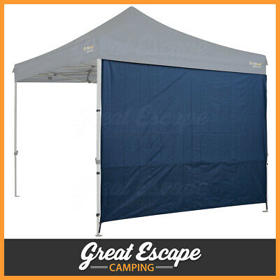 OZtrail Heavy Duty 3m Deluxe Gazebo SOLID Wall Kit - BLUE