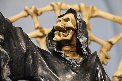 Soul Collector Fountain of Despair Grim Reaper Water Statue Spencer Gifts w Pump