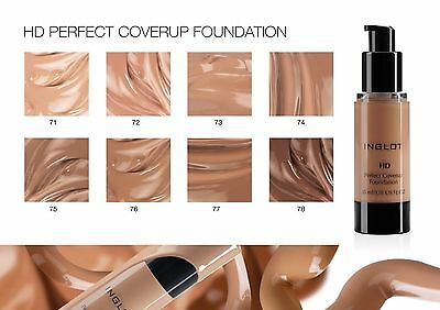 Inglot Hd Foundation Perfect Coverup 100% Genuine