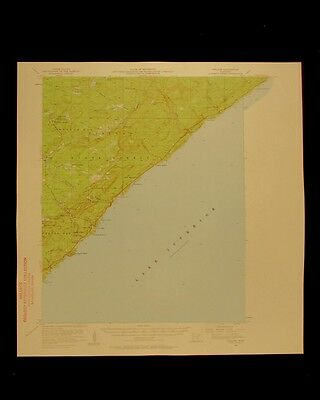 Finland Lake Superior forest Minnesota vintage 1958 USGS Topographical chart