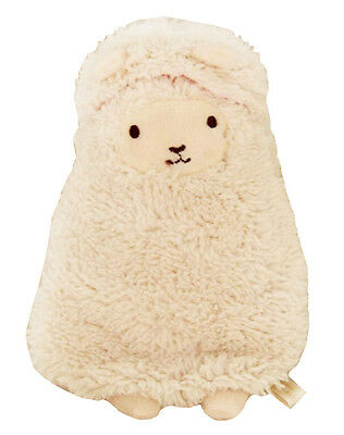 Cute Mini Hot Water Bottle With Cover-Alpaca