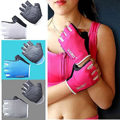 Women CrossFit Fitness Weight Lifting Gloves Gym Training Workout Wrist Support