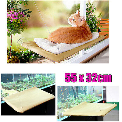 Comfortable Cat Window Bed Pets Mounted Wall Home Hammock Cover Washable 20KG