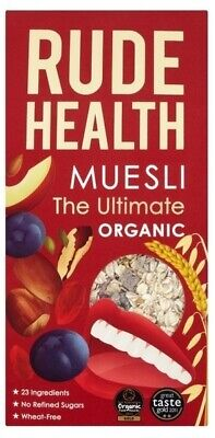 NEW Rude Health The Ultimate Muesli (Organic) ~ 500g