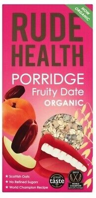 NEW Rude Health Fruity Date Porridge (Organic) ~ 500g
