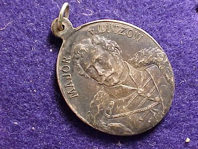 Original Wwi Era German / Prussian Major V. Lutzow 1813-1913 Medal