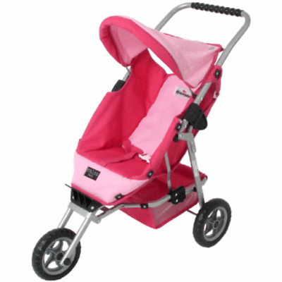 Valco Baby Just Like Mum Mini Marathon Doll Pram/Stroller Toy Kid/Children Pink