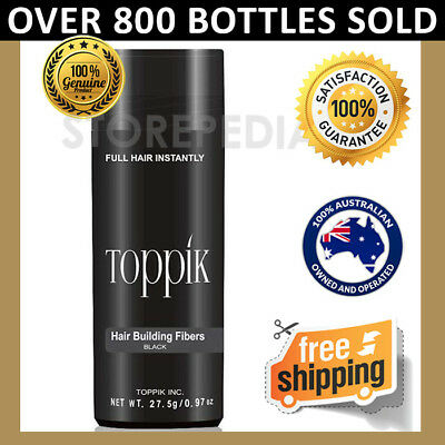 TOPPIK Hair Loss Building Fibers 27.5g Alopecia Keratin Thicker Concealer