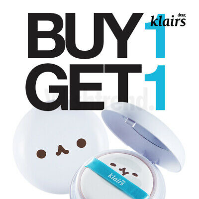 KLAIRS Mochi BB Cushion Pact 15g 1+1 SPF 40 Silky smooth finish Natural makeup