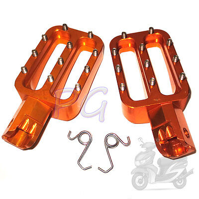 Cnc Racing Blue Footresrs Footpegs Foot Pegs Pit Bike Xr50 Crf50 Sdg Ssr