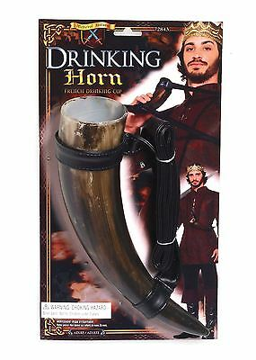 Beer Drinking Horn, Game of Thrones/Viking/Medieval/Stag Night/Party/Fancy Dress